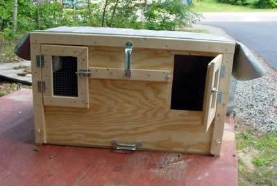 building a dog box do it yourself article rabbit hunting